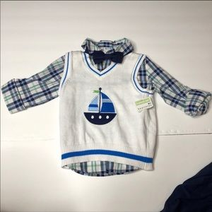 healthtex Matching Sets - Outfit Baby Boy 3 pc Set Size 24 Months